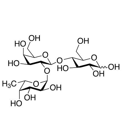 schéma fucosyllactose
