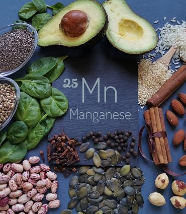 exemple manganèse
