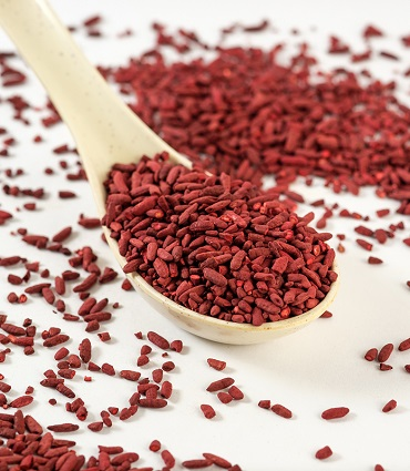 exemple levure de riz rouge