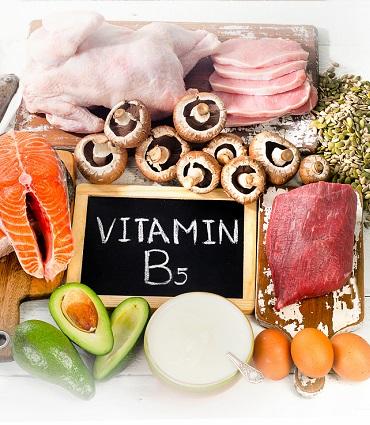 exemple vitamine B5