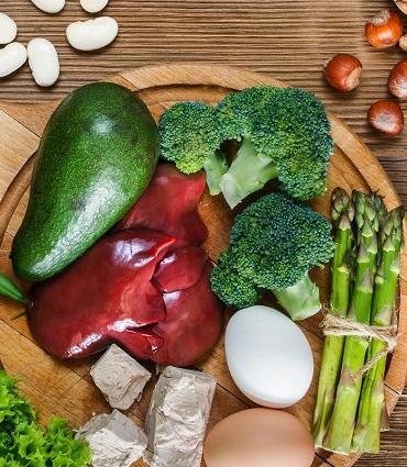 exemple vitamine B9