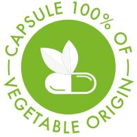 Capsule 100% of vegetable origin