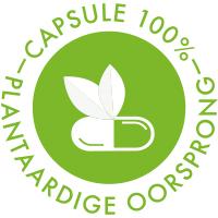 Capsule 100% plantaardige oorsprong