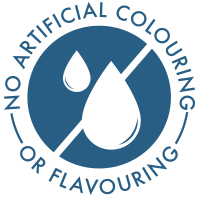 No artificial colouring or flavouring